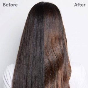 Correggere il colore dei capelli