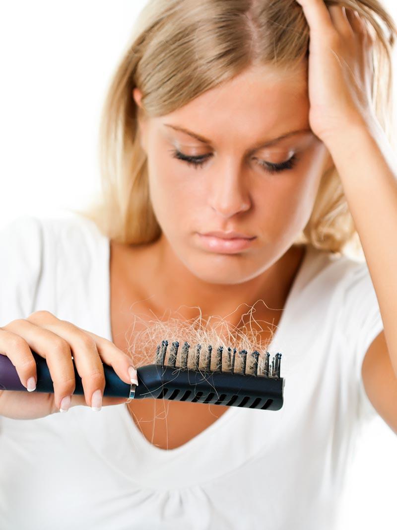 Perdita dei capelli in autunno. come prevenire.