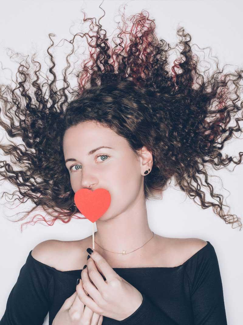 acconciature capelli per san valentino
